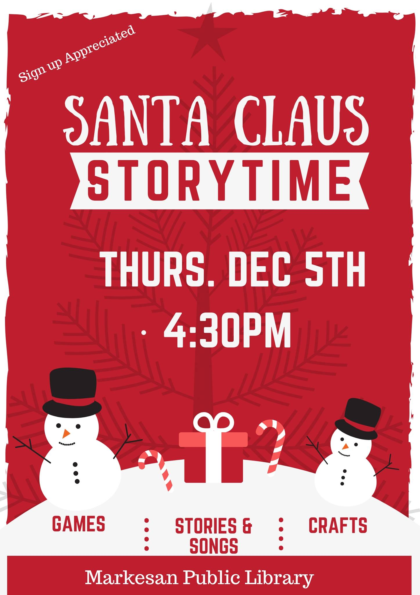 Santa Claus Story Hour