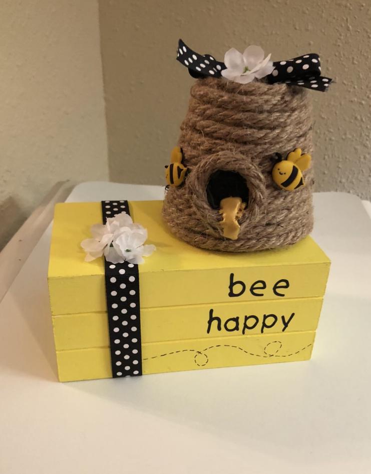 Take and Make Kit: Bee Craft starting Monday, May 17