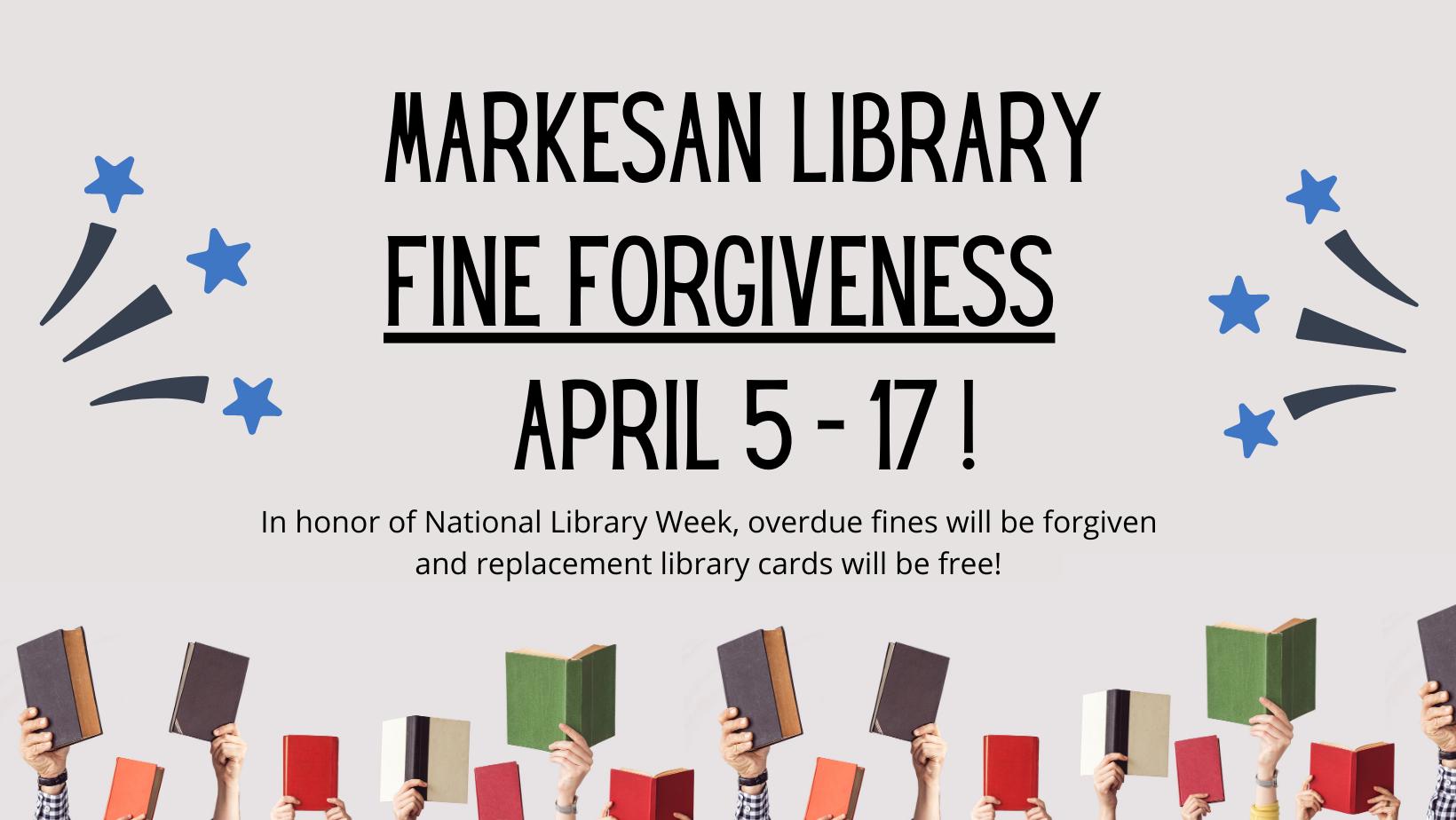 Fine Forgiveness April 5 - 17, 2021