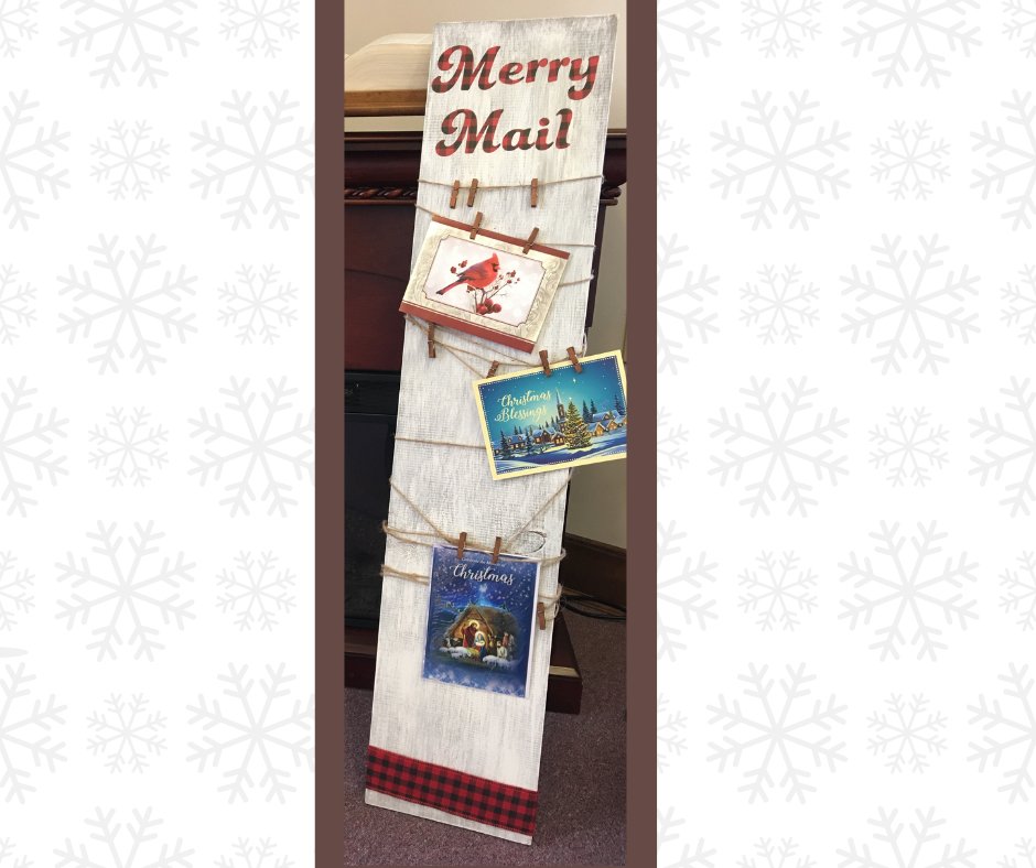 Holiday Craft Kit #6: Merry Mail Board (all kits are reserved)