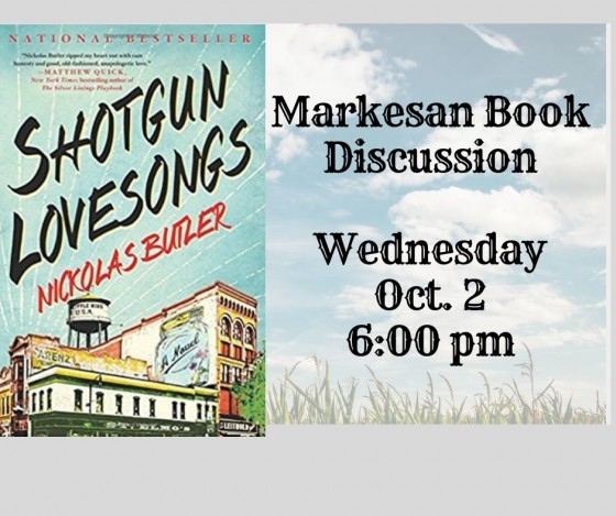 Book Discussion Green Lake County Reads October 2 6pm