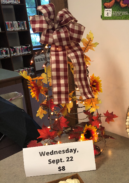 Take and Make Craft Kit: Fall Tree available starting Wednesday, September 22